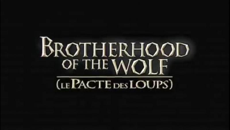 Братство волка 2001 г Трейлер англ