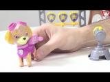 Видео для детей- Папа Роб и Щенячий ПАТРУЛЬ! Игрушки щенячий патруль