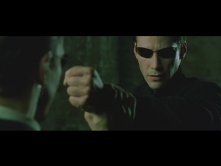 The Matrix Reloaded - Neo VS Agents