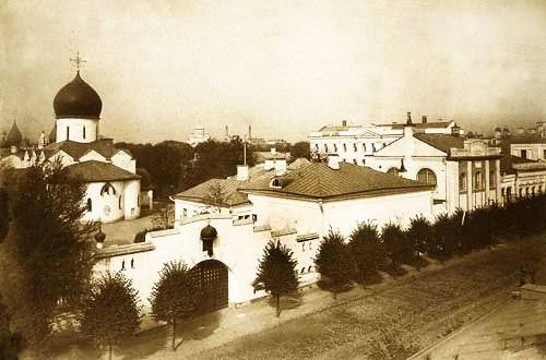 История основания обители