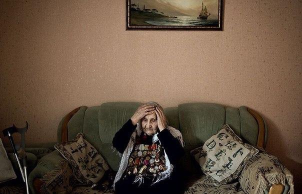 Шевкие Абибуллаева, крымская татарка, 90 лет. Войну