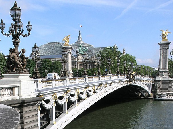 Мост Александра III — плод русско-французской дружбы