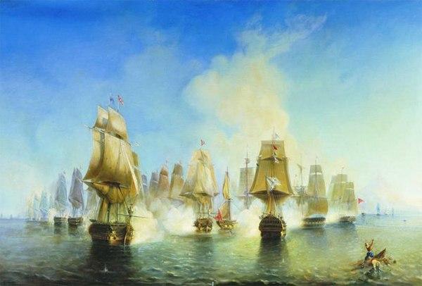 Афонское сражение 19 июня 1807 года