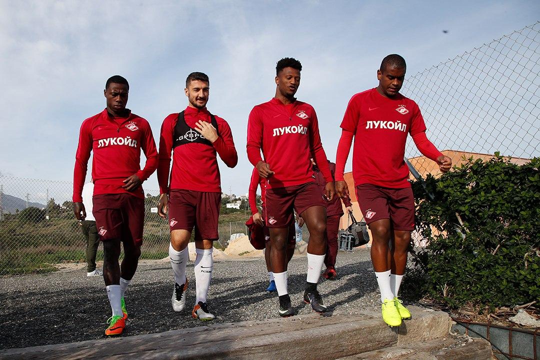 Завтра «Спартак» вернется в Испанию