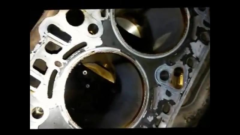 Задиры в цилиндрах Порше Кайен (кузов 955, 4,5л., 340л.с.)