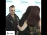 Джонни Депп и Элис Купер на ежегодном благотворительном вечере Starkey gala 17 июля