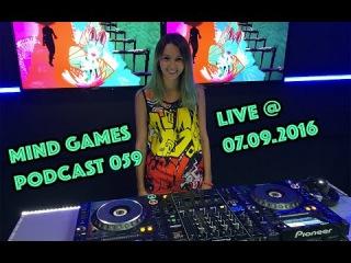 Miss Monique - Mind Games Podcast 059 (Live, Radio Intense ) // Progressive House