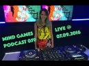 Miss Monique - Mind Games Podcast 059 (Live, Radio Intense 07.09.2016) Progressive House