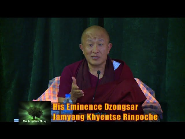 Jangchub Shing with Dzongsar Jamyang Khyentse Rinpoche on The Guru Rinpoche Principle (Extened)