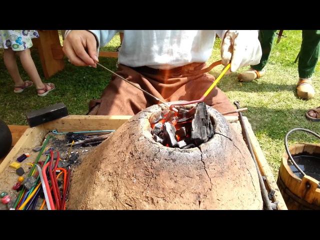Viking Handcraft Making Glass Beads