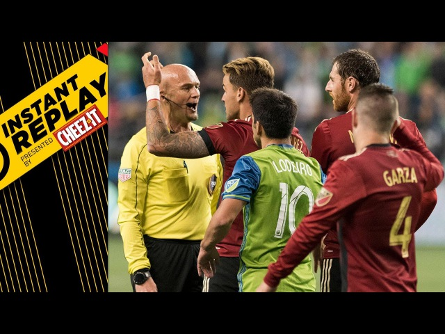 Gressel's foul, Houston offside debate and Fire's PK claim | INSTANT REPLAY