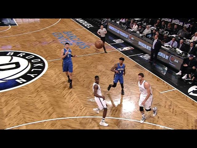 Aaron Gordon Sick Reverse Alley-Op Jam1 | Maigc vs Nets | April 1, 2017 | 2016-17 NBA Season