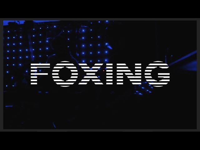 Foxing - Glass Coughs (Live @ Húrra, Iceland)