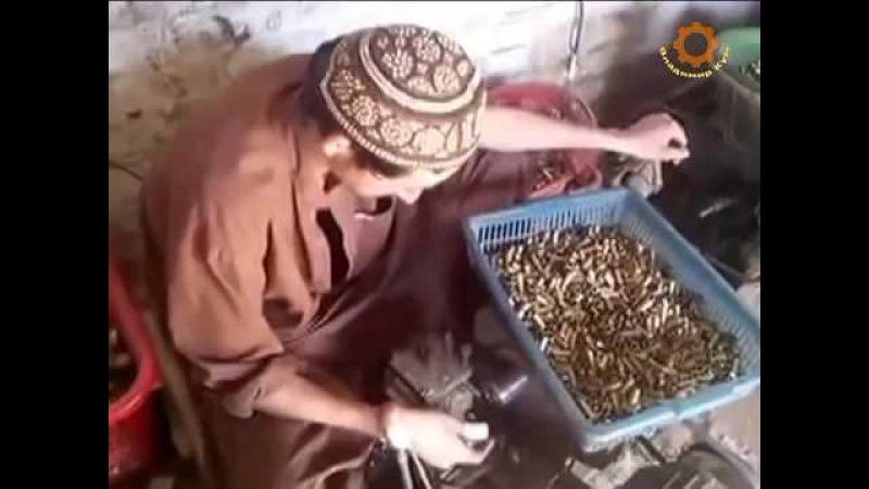 Как моджахеды делают патроны