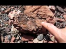 Золотые камни - руды! Поиски золота в горах!