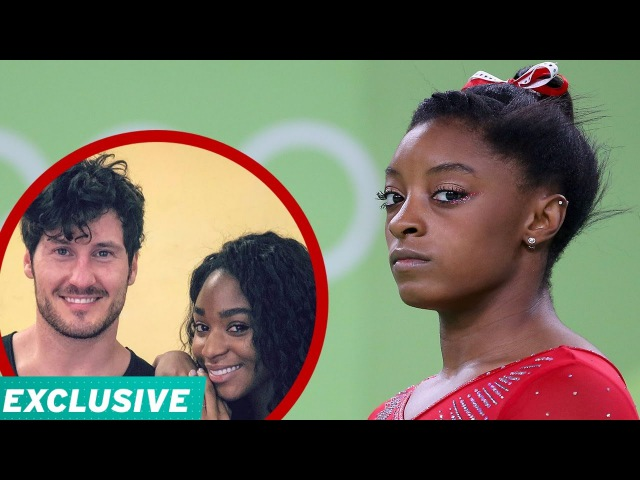 EXCLUSIVE: Simone Biles Addresses 'Gold Medal' Comment Val Chmerkovskiy Normani Kordei Defend H…