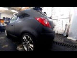 Opel Corsa в ТИТАНе от студии Rubber paint