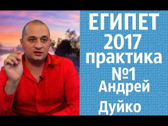 Практикум №1 Хорошие отношения Египет Андрей Дуйко