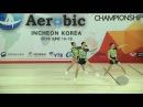 Russia 2 (RUS) - 2016 Aerobic Worlds, Incheon (KOR) - Qualifications Trio