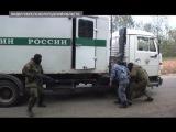 Видео ФСБ и ФСИН: захват конвоя с заключенным в аэропорту, террористы обезврежены