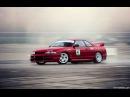 Nissan Skyline R33 GTST Drifting Great sound