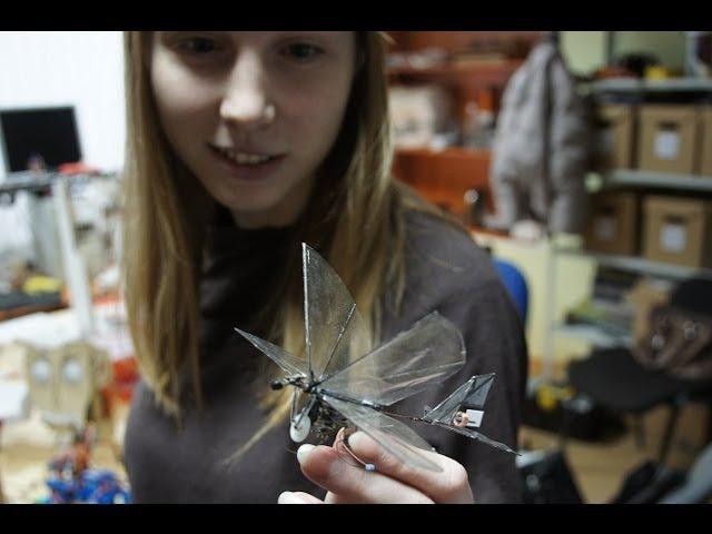 Микро орнитоптер \ Micro ornithopter 3 gram