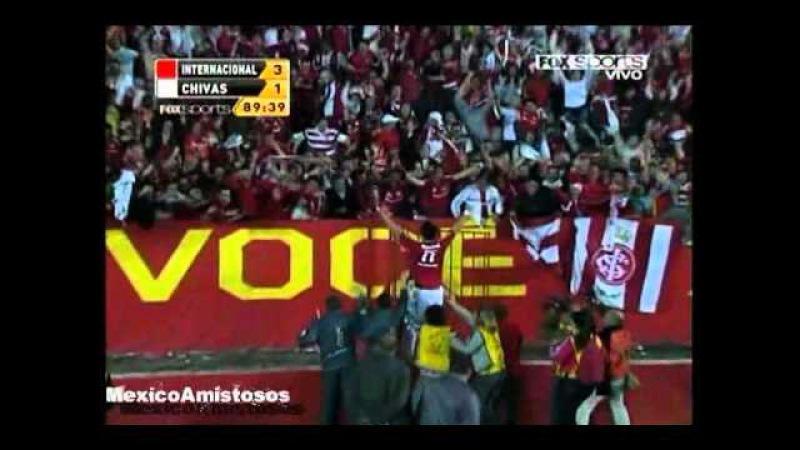 Gol Giuliano Inter vs Chivas 3-2 FINAL Copa Santander Libertadores 2010 [18/08/10]