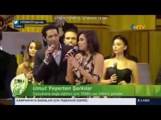 Tema 25 Yıl Şarkıları Mert Fırat Hande Doğandemir - Dedikodu Performans