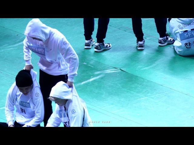 170116 ISAC 투닥거리는 구오즈와 맏형 방탄소년단 석진 BTS Jin focus fancam