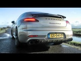 Porsche Panamera Turbo S w/ TechArt Exhaust - REVS & Exhaust SOUNDS!