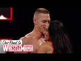 Nikki Bella's unforgettable first match with John Cena - Our Road to WrestleMania John and Nikki