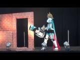 White Wolf of Hamel   AniMatsuri 2016   EuroCosplay Contest - Defile