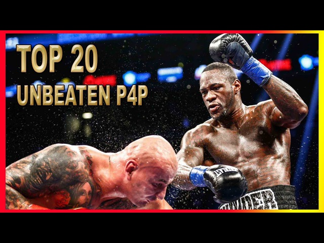 Top 20 P4P Undefeated Fighters in Boxing Today 2017