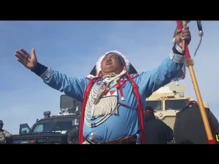 Police got violent with Native Americans protecting their land at the Dakota Access Pipeline #NoDAPL