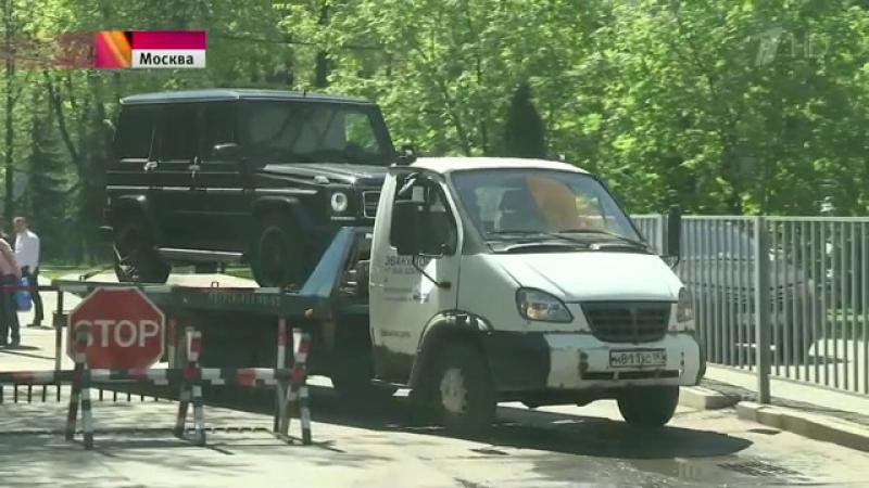 Судебные приставы конфисковали внедорожник сына вице-президента ЛУКОЙЛА Руслана Шамсуарова