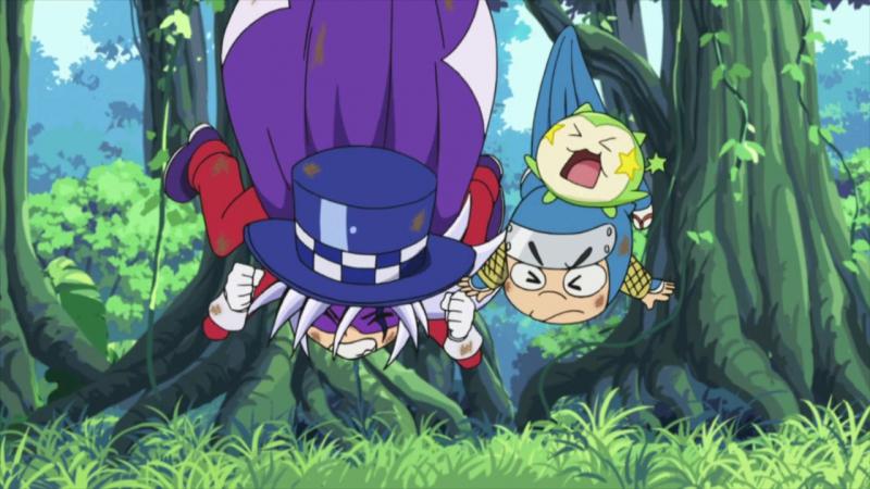 Kaito Joker ТВ 3 32 Мистический похититель Джокер Rena chan русские субтитры