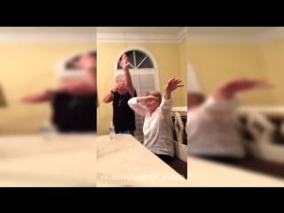Bottle flip challenge [sparta video]