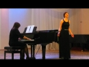 7- Анна Рудая. Мотылек . Исполнители: Юлия Островская (вокал), Анна Рудая ( фортепиано).
