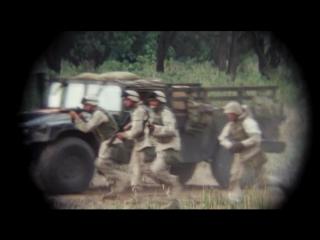 Поколение убийц. Атака морской пехоты на позиции иракской армии