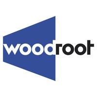 Логотип WOODROOT образовательная платформа