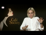 Interview- Kristen Stewart on Cafe Society