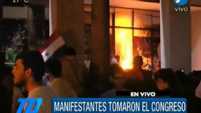 У Парагваї демонстранти захопили конгрес