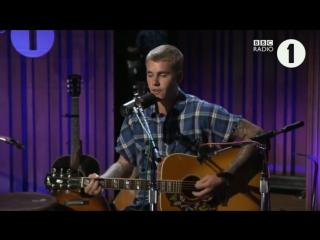 Justin Bieber Fast Car BBC Radio 1 Live Lounge 2016