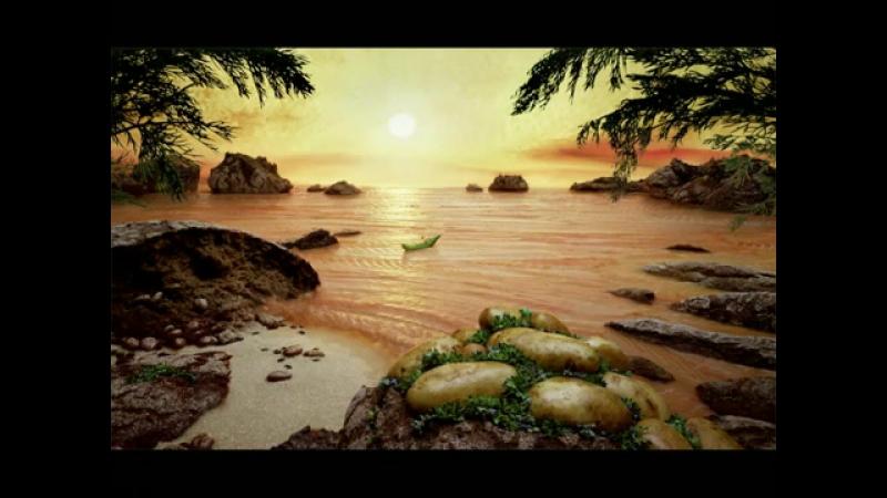 Карл Уорнер пейзажі складені з продуктів або предметів побуту.