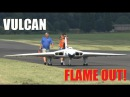 GIANT SCALE RC VULCAN XH558 20FT WINGSPAN DAVID JOHNSON COSFORD LMA MODEL SHOW 2014