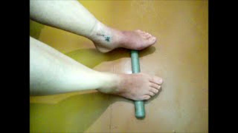 Гипс при переломе лодыжки сняли, упражнения для восстановления ноги. Спорт и Здоровье.