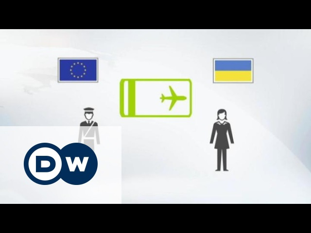 Як працюватиме безвіз ЄС для українців   DW Ukrainian