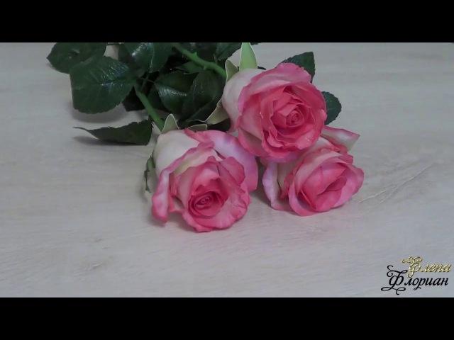 Мастер класс реалистичная роза Джумал из фоамирана