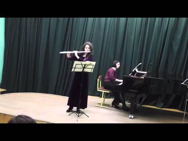 Зверева Александра - 01 Шуберт - Соната Арпеджионе I часть