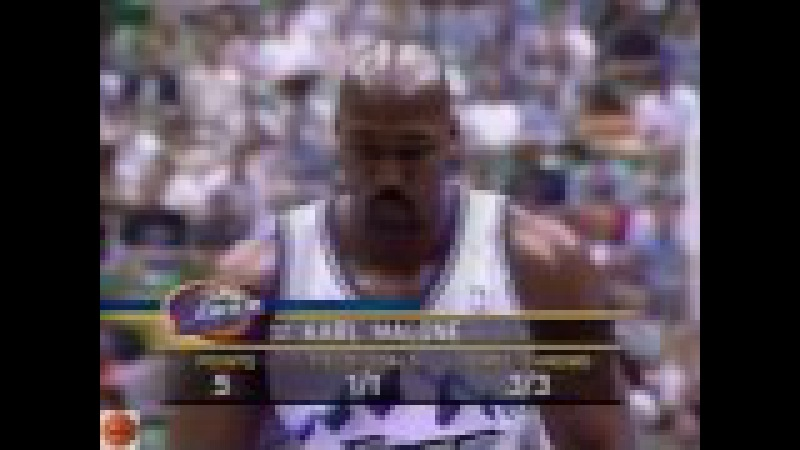 Utah Jazz - Seattle Supersonics : playoff Western conference NBA 2000